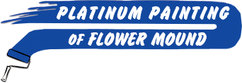 Platinum Painting of Flower Mound logo