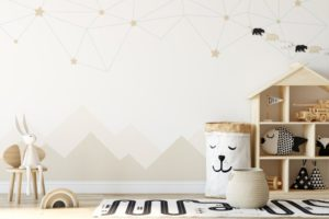 decorated child's room